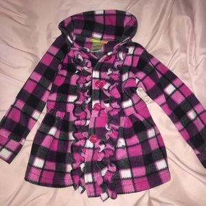 Other - Pink plaid Penelope coat 3T